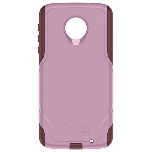 OtterBox Commuter Series Case for Motorola Moto Z Force Droid Edition - Retail Packaging - Mauve Way (Mauve Pink/Merlot Purple)