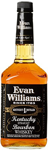 Evan William Black Label Kentucky Straight Bourbon Whiskey (1 x 1 l)