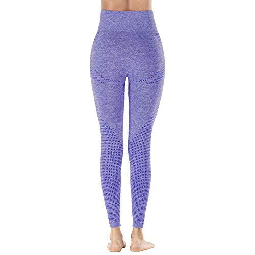 AAJIA,Ropa Deportiva,Leggings Deportivos para Mujer Leggings Deportivos para Mujer Leggings Deportivos de Cintura Alta para Mujer, NS6023 Azul, L