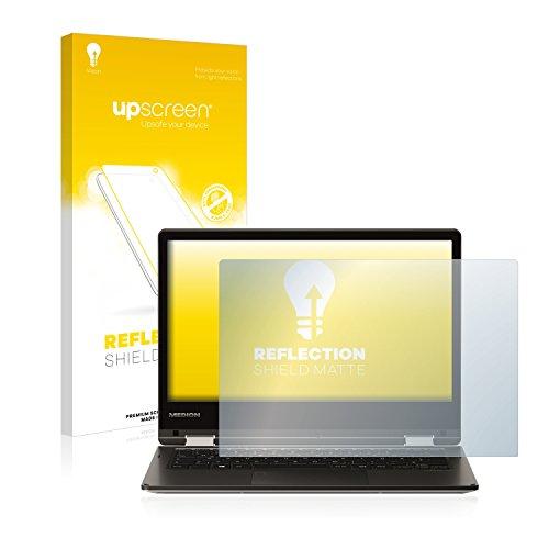 upscreen Entspiegelungs-Schutzfolie kompatibel mit Medion Akoya E2228T (MD 61250) – Anti-Reflex Bildschirmschutz-Folie Matt
