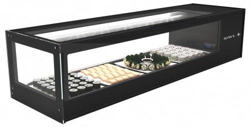Neumärker 05-70560 - Vetrina refrigerante Logic Sushi 6 6x 1/3 GN x 40 mm