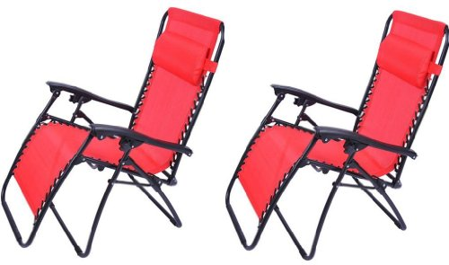Outsunny Zero Gravity Recliner Chair