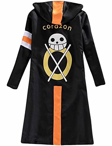 Anime Cosplay ONE PIECE Trafalgar Law 3rd Abrigo con capucha Capa Fiesta Carnaval Halloween Carnaval Trajes Traje