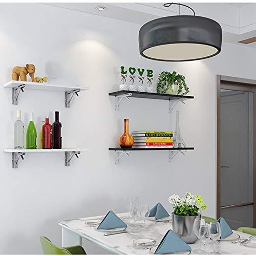 Verstelbare opvouwbare wandtafel plank woord steun woonkamer wandtafel plank wit grootte optioneel kan worden gedraaid (afmetingen: 80 x 24 x 1,8 cm) 80 * 24 * 1.8cm