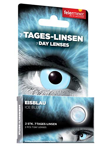 Kontaktlinsen FM 1W/0dpt/14,5mm Eisblau