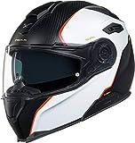 NEXX X.Vilitur Hyper-X Matte Carbon White Modular Motorcycle Helmet (XS)