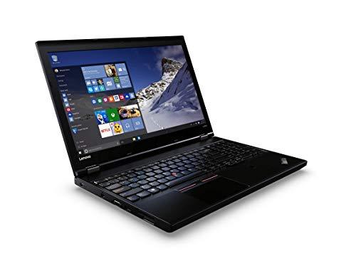 Lenovo ThinkPad L560 15,6 Zoll 1920×1080 Full HD Intel Core i5 256GB SSD Festplatte 8GB Speicher Windows 10 Pro Webcam Business Notebook Laptop (Zertifiziert und Generalüberholt)