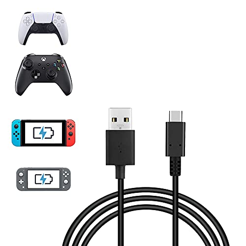 4.9FT USB C Charging Cable for Nintendo Switch & OLED model, Fast Charging USB Type A to USB C Cable by RHPTALL Compatible with Samsung Galaxy S21 S21+ / Note20, Google Pixel 5 and Other USB C Charger