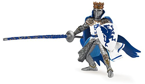 Papo 39387 Blue dragon king THE MEDIEVAL ERA Figurine, multicolour