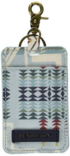 Pendleton Men's Canopy Canvas Luggage Tag, Harding Aqua, 1-SZ