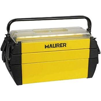 MAURER 2240001 Caja herramientas metálica, 450x200x200 mm: Amazon ...