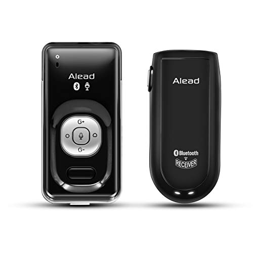 Alead Nolan LiveMICRX2 Bluetooth Microphone and Voice Receiver, Long Range, Low Latency, Clarity Sound with uni, Omni, ext mic for Education, webinar, PA Systems, Voice Recording
