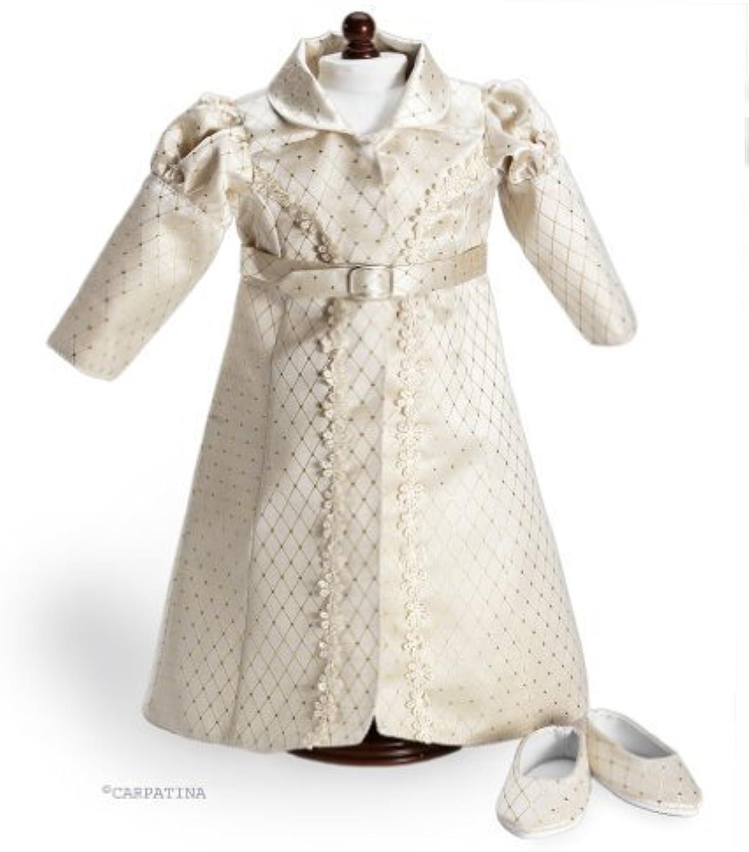 CARPATINA Regency Redingote & shoes Doll Clothes fits 18  American Girl Dolls