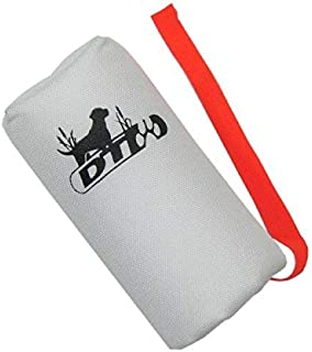 DT Systems Super Pro Series Feather Weight White Launcher Dummy with Orange Streamer Nylon