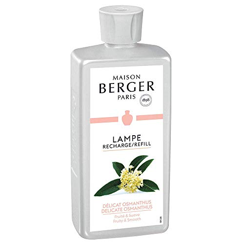 Delicate Osmanthus - Lampe Berger Fragrance Refill for Home Fragrance Oil Diffuser - 16.9 Fluid Ounces - 500 milliliters