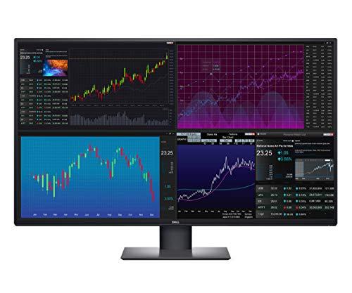 Dell U4320Q UltraSharp 43 Inch 4K UHD (3840 x 2160) LED Backlit USB-C Monitor with DisplayPort and HDMI (Renewed)