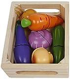 Van Manen - Caja de madera para cortar verduras (11 piezas)