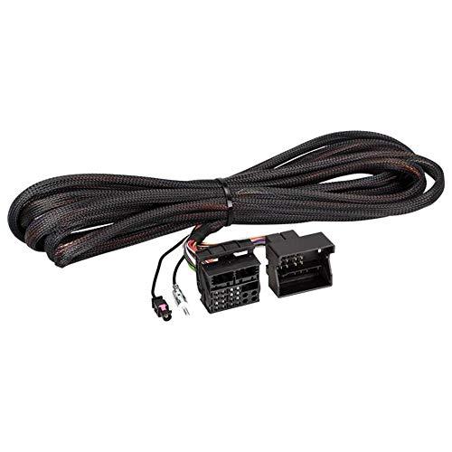 Quadlock Verlängerungskabel 6,5m kompatibel mit BMW 3 E46, 5 E39, X5 E53 (inkl. Antennenverlängerung auf DIN, I-Bus und Antennenremoteleitung)