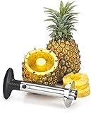 Dhola Stainless Steel Fruit Pineapple Corer, Slicer, Peeler, Kitchen Cutter Knife.