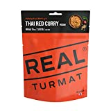 Drytech Real Turmat Thai Curry Red Trekking comida al aire libre Ration Alimento Vegano