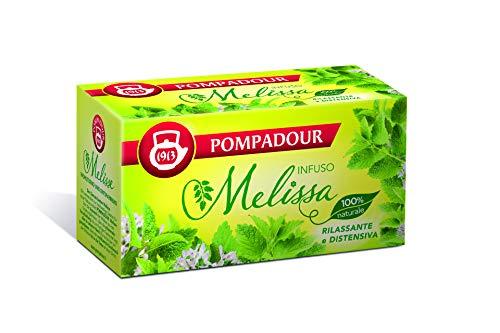 Pompadour - Melissa Per Infuso, Rilassante E Distensiva - 20 filtri - [confezione da 3]