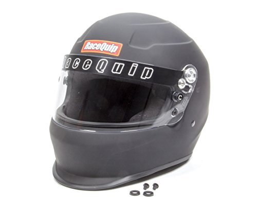 RaceQuip 273997 Flat Black XX-Large PRO15 Full Face Helmet (Snell SA-2015 Rated)