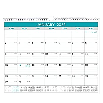 Calendar 2021-2022 - Wall Calendar 2021-2022 from July 2021 to December 2022 18 Months Calendar with Julian Date 14.75 x 11.5 Inches Thick Paper for Organizing & Planning
