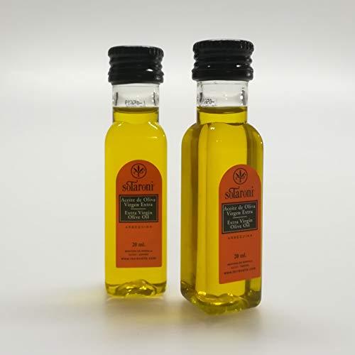 Olio extravergine di oliva miniatura ARBEQUINA SOTARONI 20 ml 100 unità