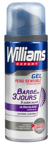 Williams gel à raser barbe de 3 jours 200ml