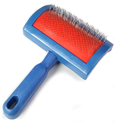 Zaloop Cepillo de piel de cordero para cuidado de pieles (tamaño M)