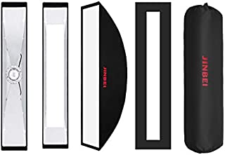 JINBEI QUICK FOLD 35 X 150 سم UMBRELLA SOFT BOX BOWENS TYPE