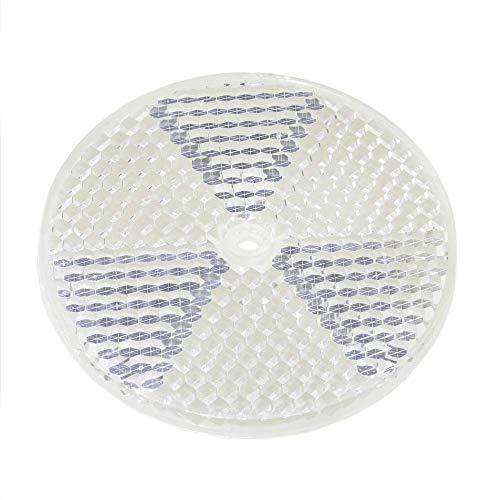 BeMatik - Katadioptrische Spiegelreflektor für Fotozelle photoelektrischen 77mm Runde