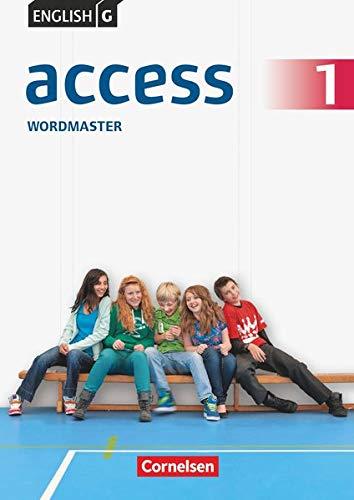 English G Access - Allgemeine Ausgabe: Band 1: 5. Schuljahr - Wordmaster mit Lösungen: Vokabelübungsheft