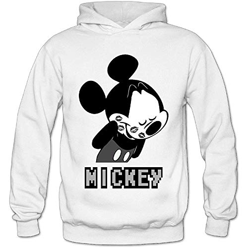 Mickey Mouse Shy Fashion Logo Hoodies For Women
