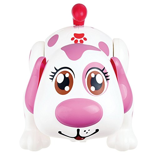 WEofferwhatYOUwant Electronic Pet Dog - Original Batteries Included Interactive Puppy Robot Helen Responds to Touch, Walking, Chasing and Fun Activities