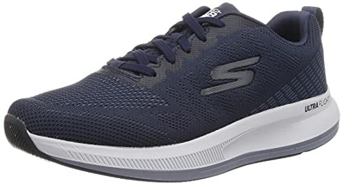 SKECHERS Zapatillas GO Run Puls Color; Marino/Gris 220096/NVGY Nº 43