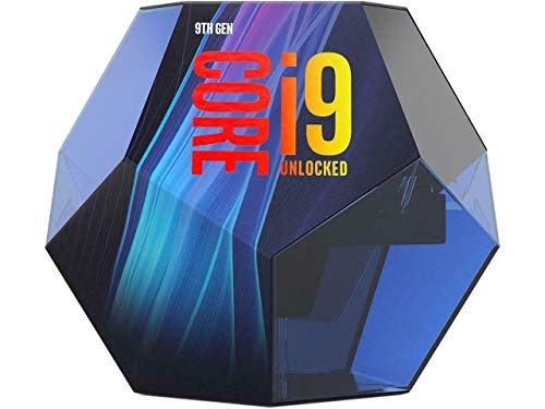 Intel Core i9-9900K - Procesador (9ª generación de procesadores Intel® Core™ i9, 3,6 GHz, LGA 1151 (Zócalo H4), PC, 14 NM, i9-9900K)