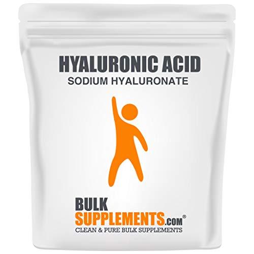 BulkSupplements.com Hyaluronic Acid (Sodium Hyaluronate) - Anti Aging Supplement - Pure Hyaluronic Acid - Ceramides Supplement (100 Grams - 3.5 oz)
