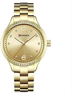 كورين ساعة نسائية 9003 ذهبي