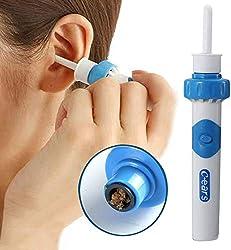 Ohrenreiniger, Ohrwachsentferner, Ohrwachs Entfernungs, Ohrenschmalz Entferner, Ear Wax Cleaner, Ohr Schmalz Reiniger mit 2 entfernbaren Silikon Aufsatzen, Babies, Jugendliche, Erwachsene