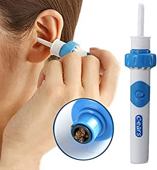 Earwax Removal Kit Ear Cleaner Portable Automatic Electric Vacuum Ear Wax Ear Vacuum Cleaner Easy Earwax Remover Soft Prevent Ear-Pick Clean Tools Set Safe and Comfortable for Adults Kids