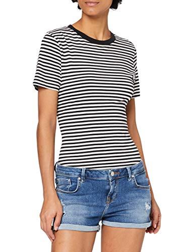 LTB Jeans Damen Judie Jeans-Shorts, Rosali Wash 53242, M