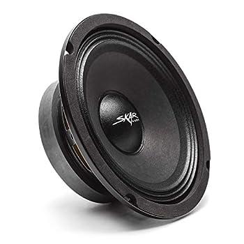 Skar Audio FSX65-4 6.5  300 Watt 4 Ohm Pro Audio Midrange Loudspeaker Each