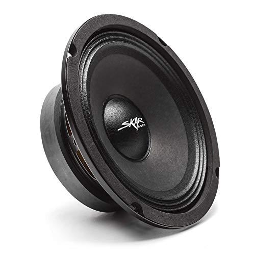 Skar Audio FSX65-4 6.5  300 Watt 4 Ohm Pro Audio Midrange Loudspeaker, Each