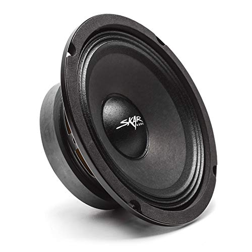 "Skar Audio FSX65-4 6.5"" 300 Watt 4 Ohm Pro Audio Midrange Loudspeaker, Each"