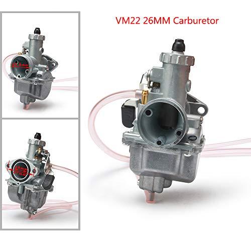 Mikuni VM22 Carburador de 26 mm Carburador para la mayor parte de la ingesta de motocicletas Dirt Pit Bike ATV Quad 110cc 125cc 140cc Motocross