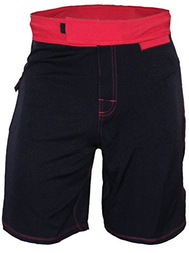 Epic MMA Gear WOD Shorts Agility 1.0 (Black/Red, 34)
