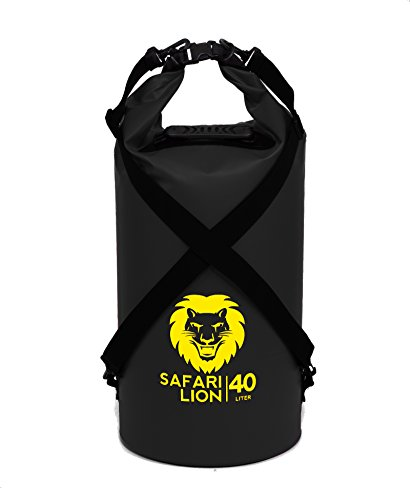 Adventure Lion Premium Waterproof Dry Bags for Kayaking, Camping, Boating | 5, 10, 20, 40L