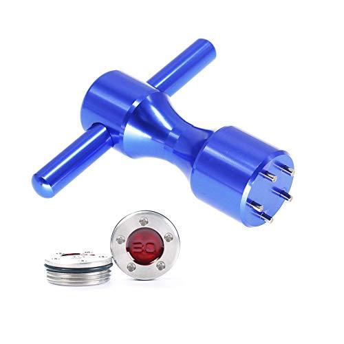 HISTAR Golfschlägergewichte + Blauer Schraubenschlüssel für Titleist Scotty Cameron Putter, 2 Stück