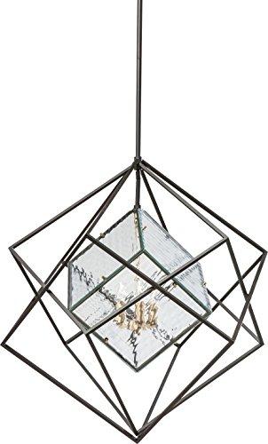 Kare Design Hängeleuchte Prisma Ice Cube Big, große Hängelampe, ausgefallene Pendelleuchte, Lampe in Kubusform, Wohnzimmer Leuchte, (H/B/T) 206x82x82cm
